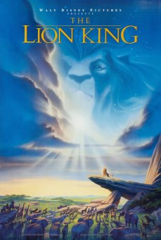 Lion King 1994 poster